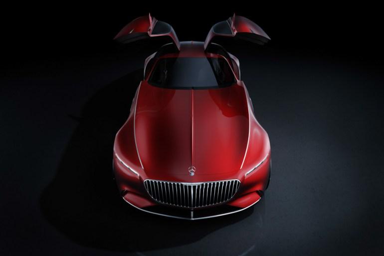 Vision Mercedes Maybach 6 7