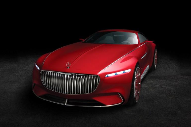 Vision Mercedes Maybach 6 8