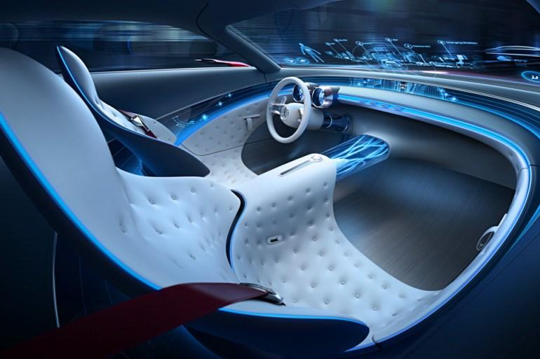 Vision Mercedes Maybach 6 salon 3