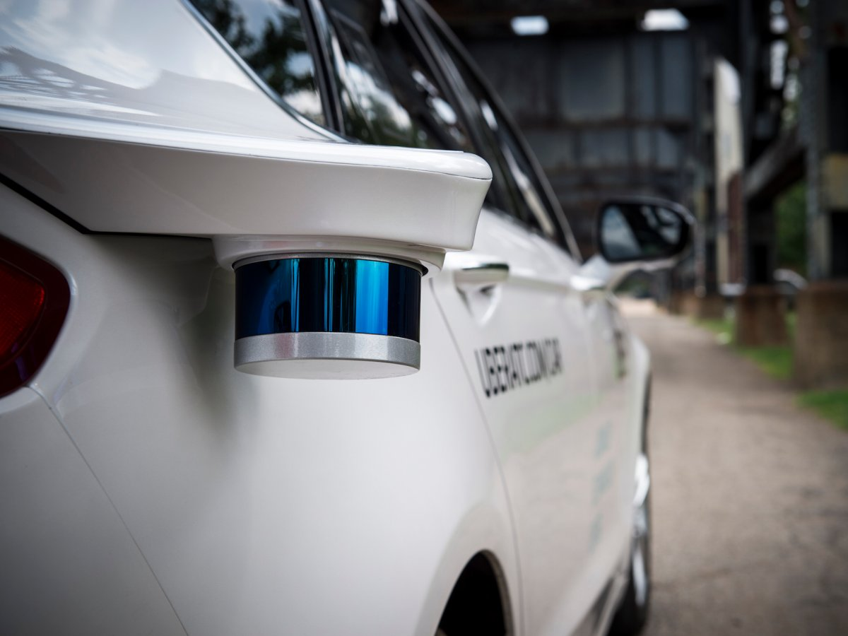 that lidar on top is exceptionally powerful eric meyhofer the engineering lead for the self driving car project says its capable of firing 14 million laser points per second to build a 3d view of the cars surroundings a