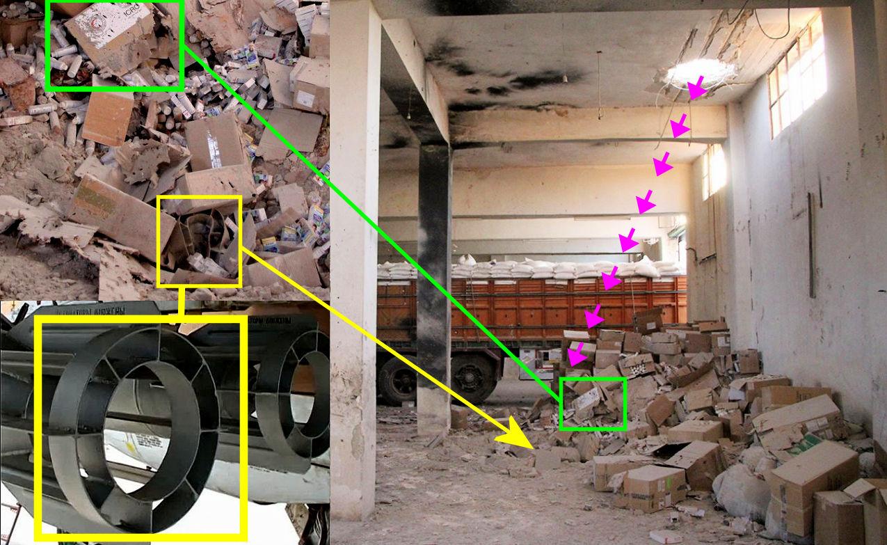 syria aid convoy bomb