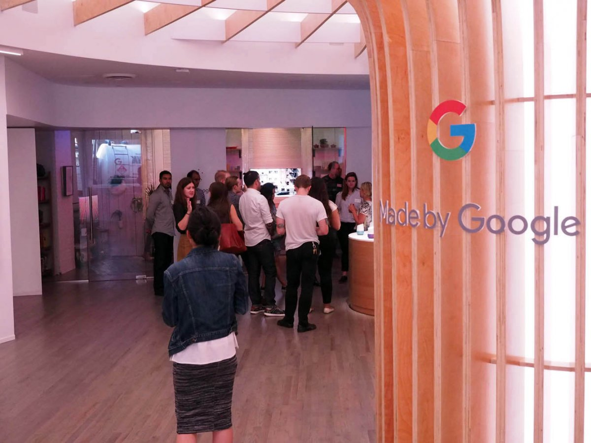 but youre here for google products right thats what the whole store is about