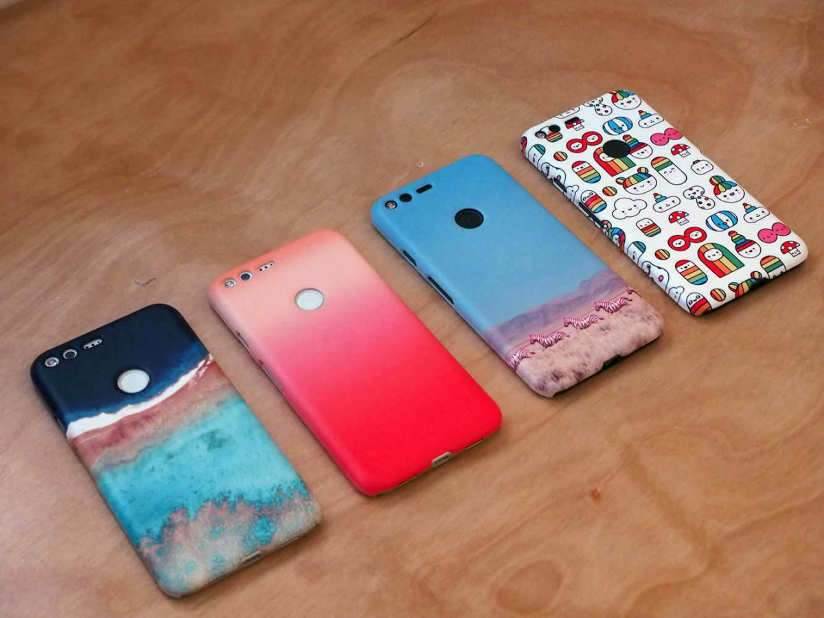you can also check out the new custom cases for the pixel which are quite fetching