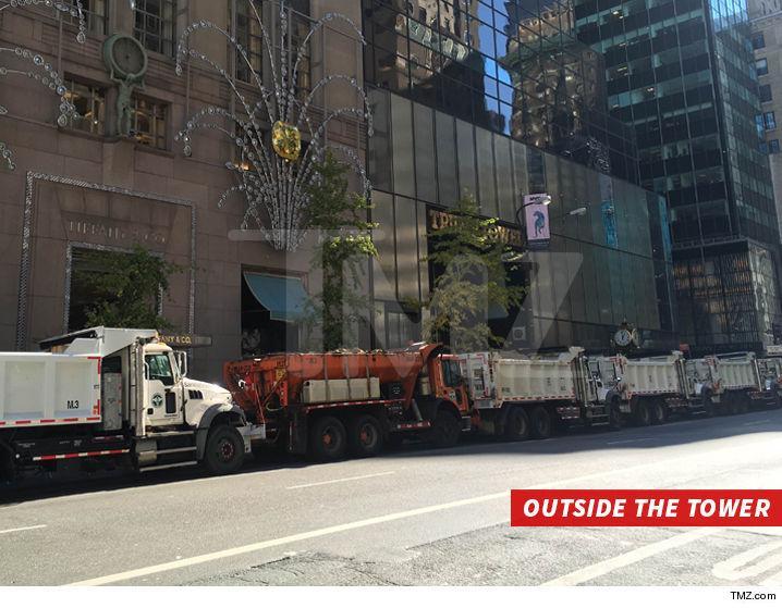 1108 trump tower dump trucks tmz 11