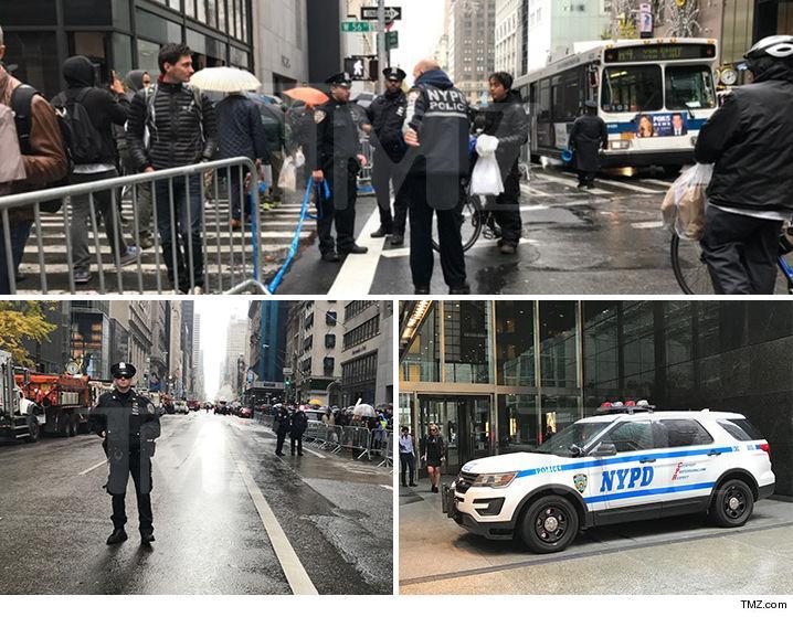 1109 cops outside trump tower tmz 3