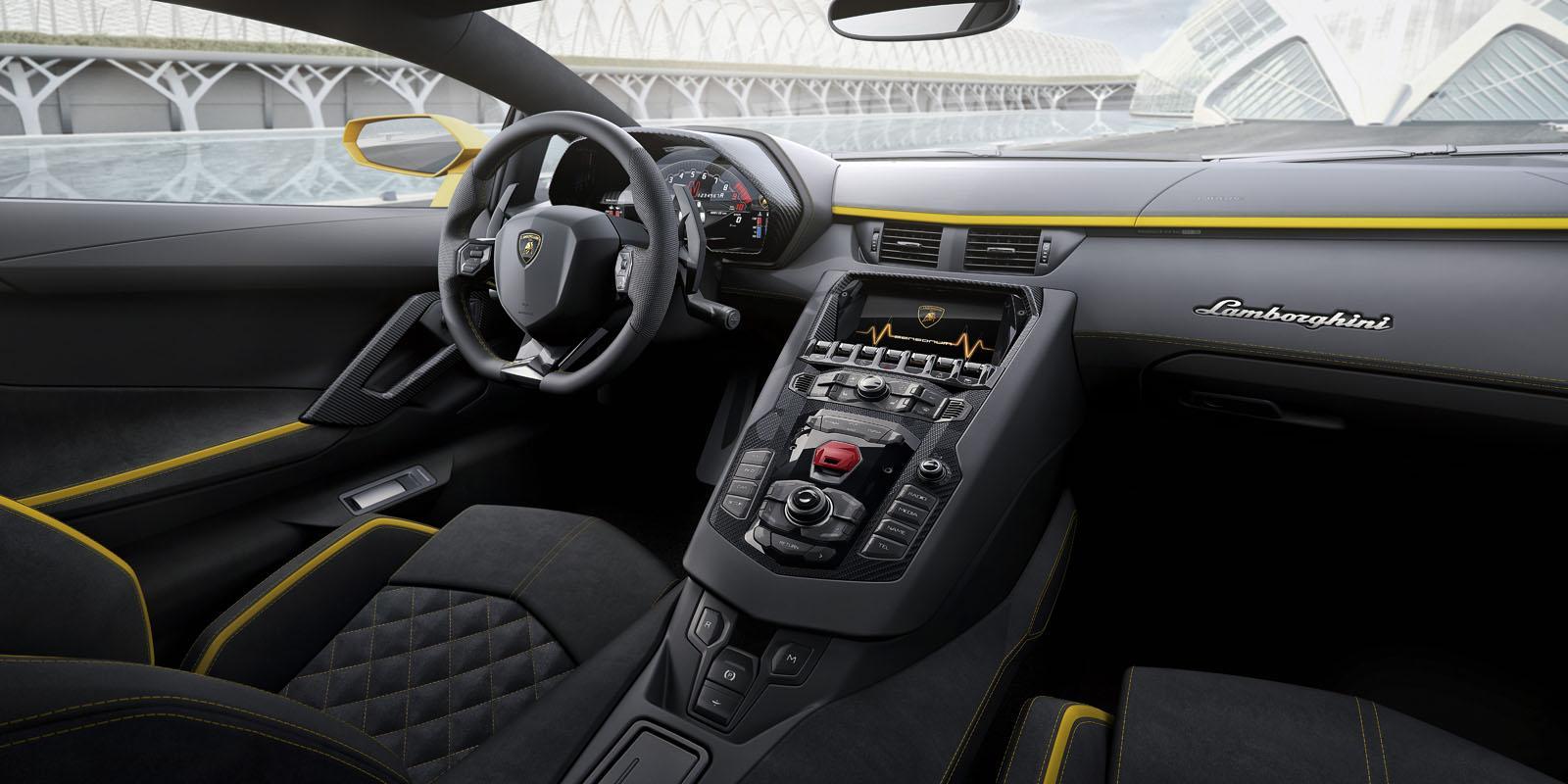 2018 Lamborghini Aventador S 12
