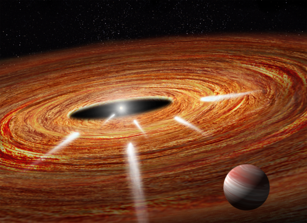 1483952987 nasa hubble detects exocomets plunging into young star