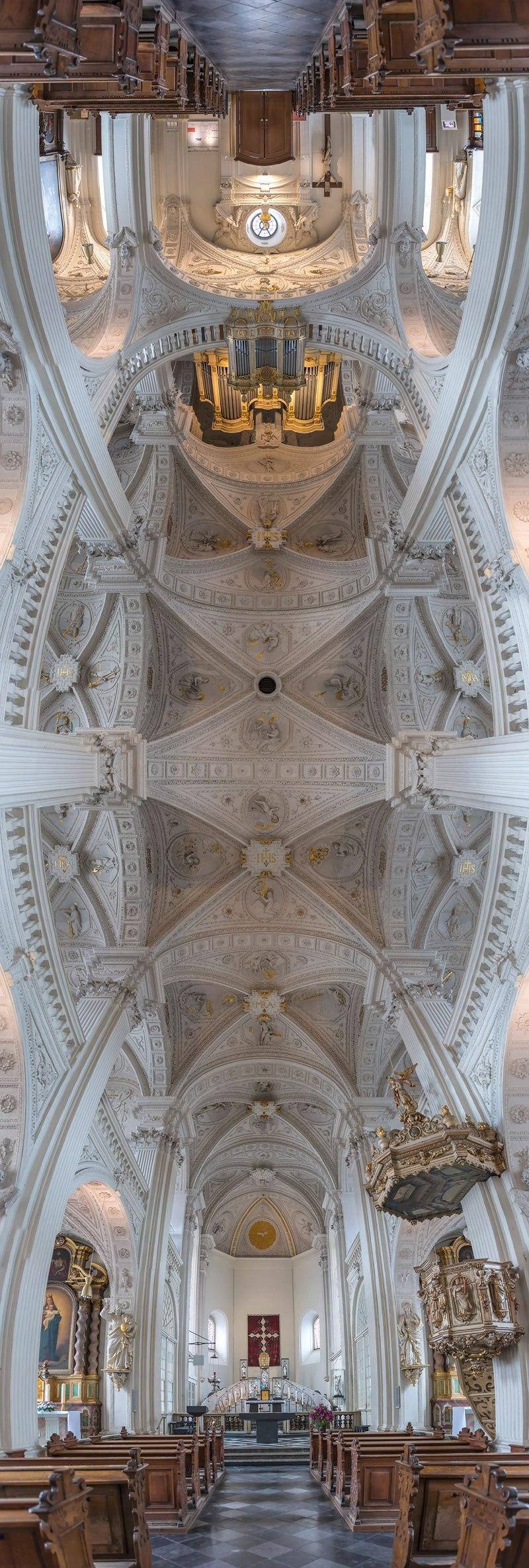 vertical panoramas of church ceilings around the world 10