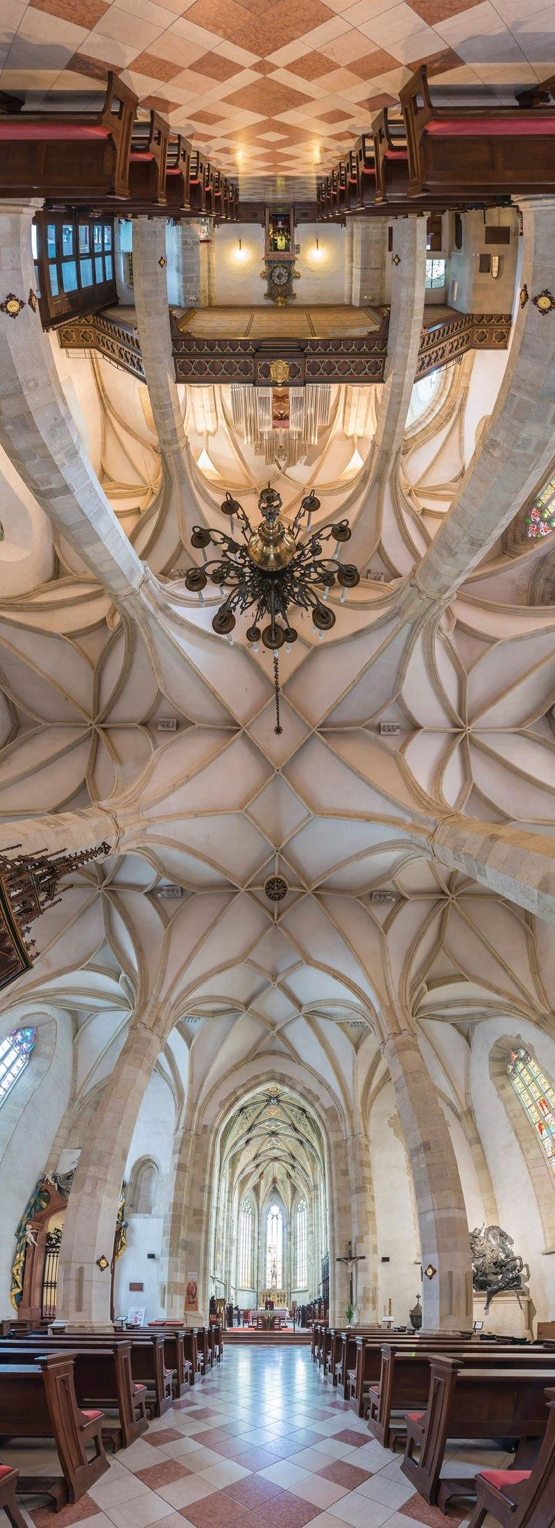 vertical panoramas of church ceilings around the world 9