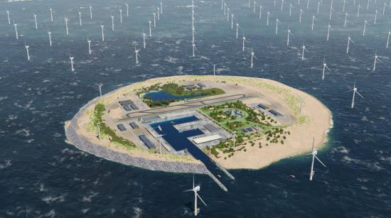 North Sea island billede