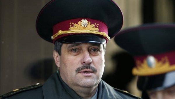 General mayor Viktor Nazarov
