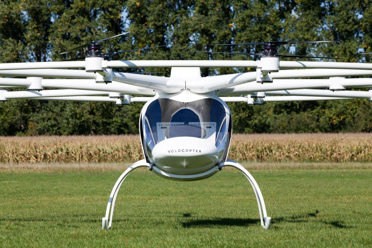the aircraft comes with sensors that could allow it to fly autonomously in the future but a pilot will control the vtol next year