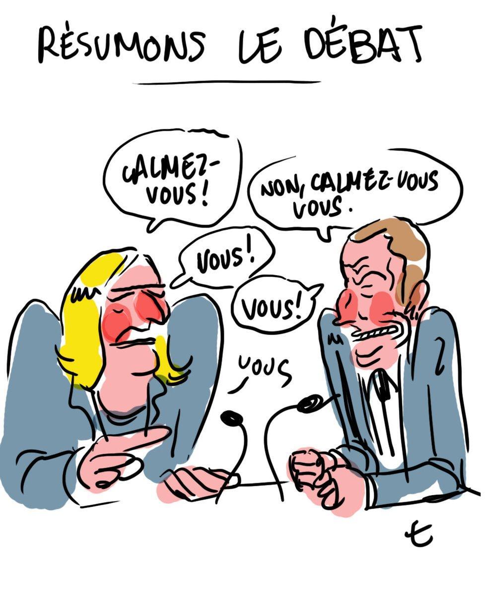 дебаты во Франции карикатура