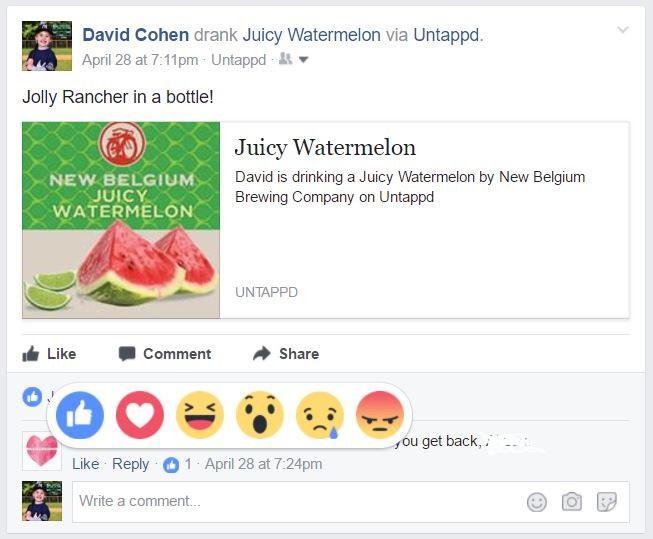 Facebook, эмодзи_1