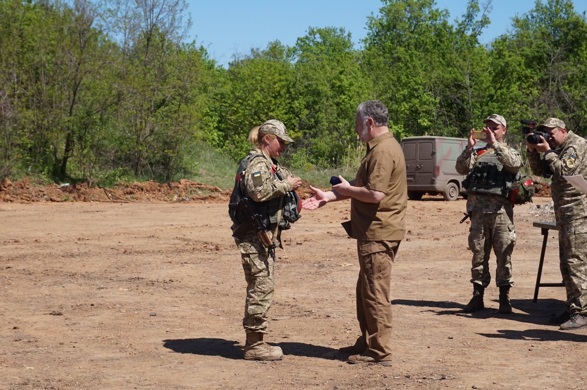 Донбасс. Учения артиллерии_8