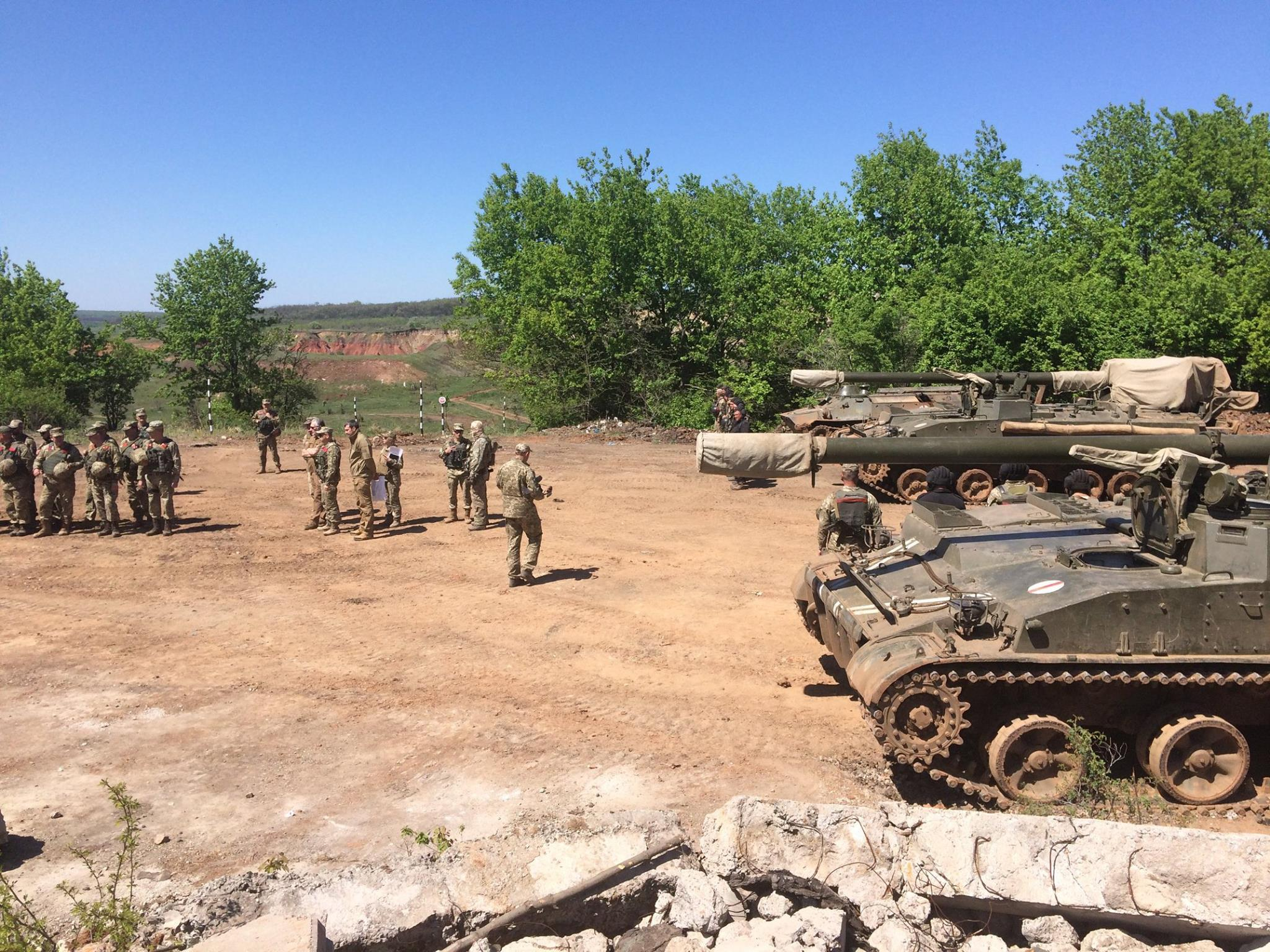 Донбасс. Учения артиллерии_5