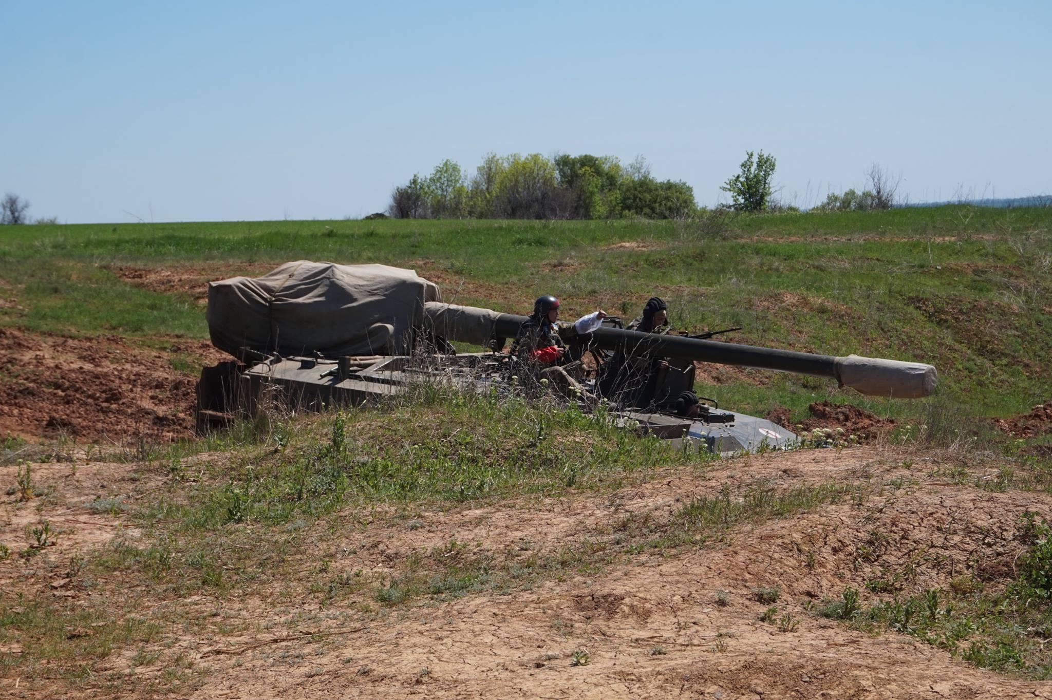 Донбасс. Учения артиллерии_6