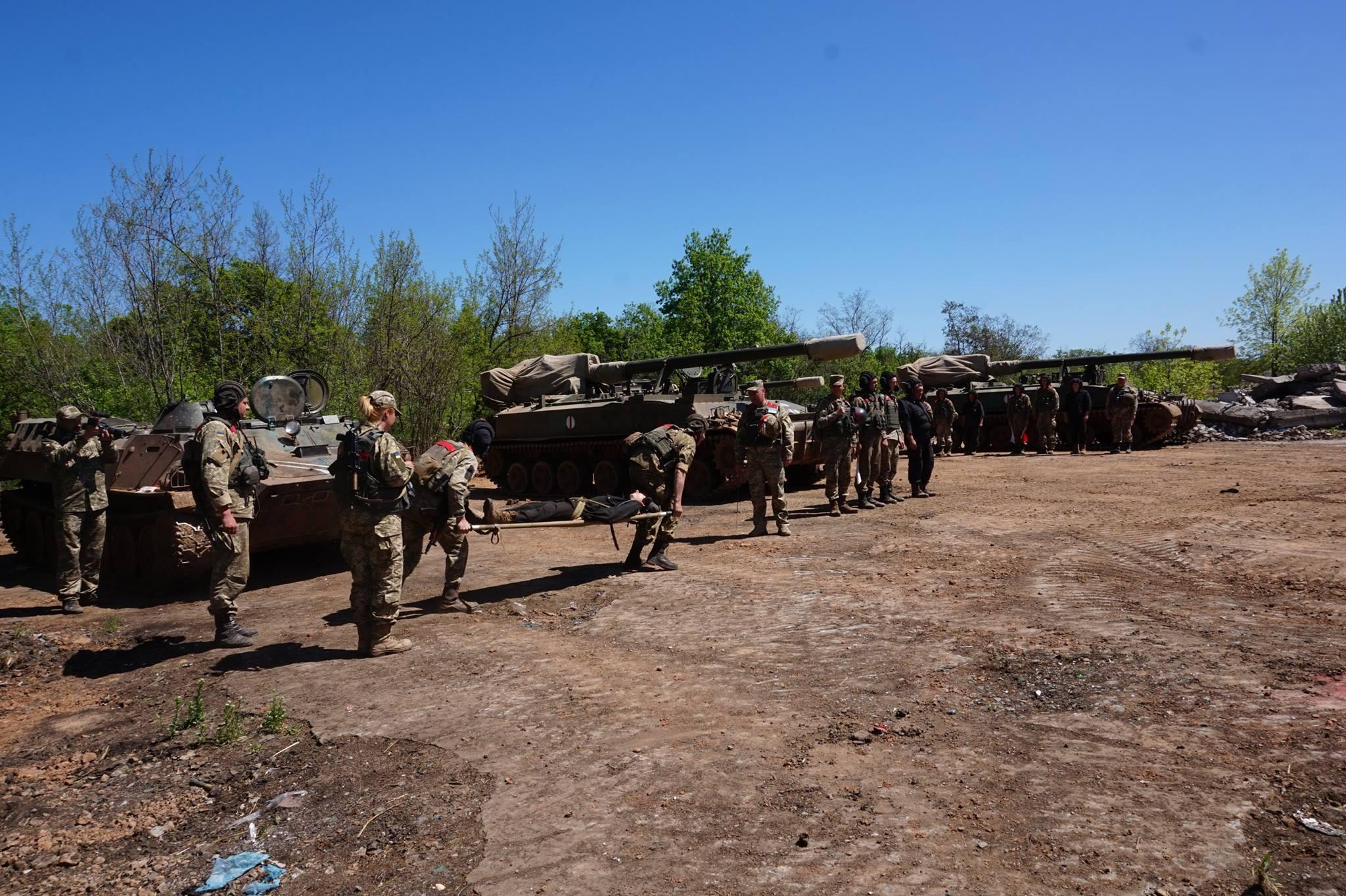 Донбасс. Учения артиллерии_4