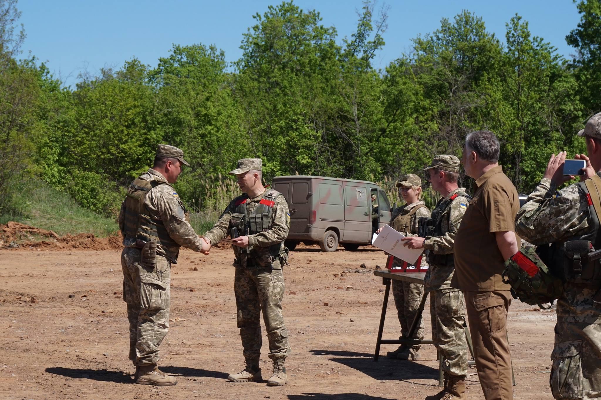 Донбасс. Учения артиллерии_7