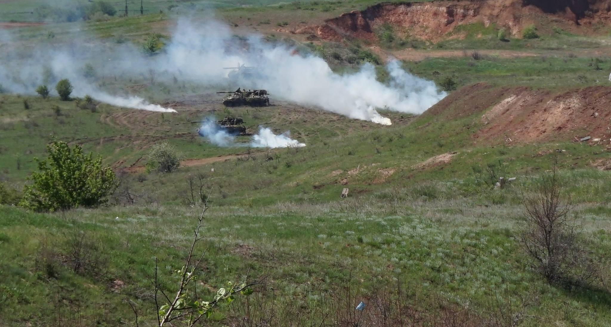 Донбасс. Учения артиллерии_2
