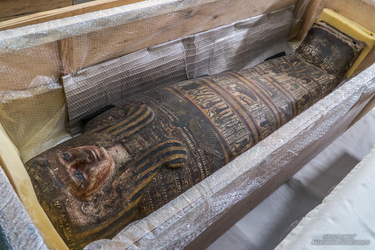 Киев. Древнеегипетские мумии_6