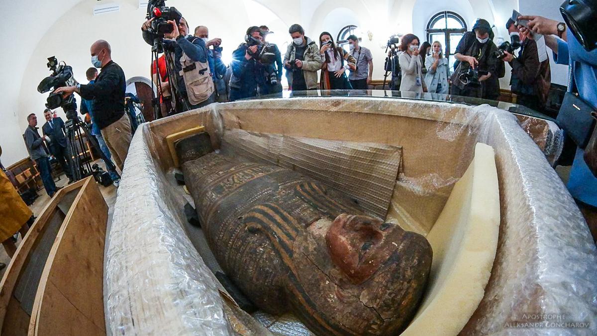 Киев. Древнеегипетские мумии_16