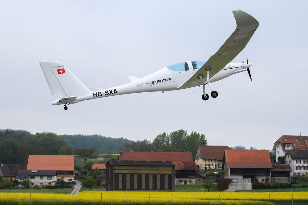 Самолет SolarStratos