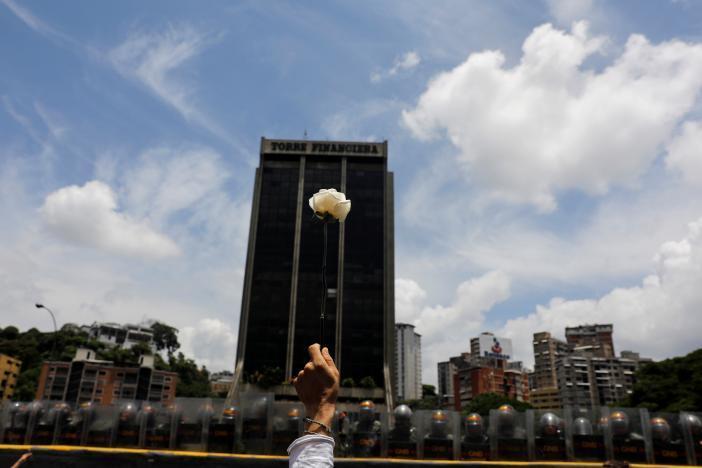 Протест в Каракасе_1