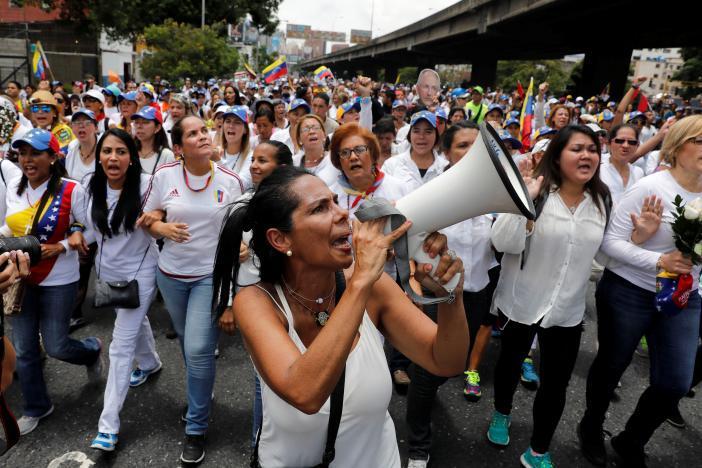 Протест в Каракасе_10