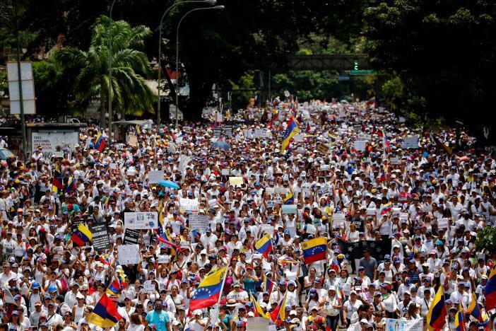 Протест в Каракасе_11
