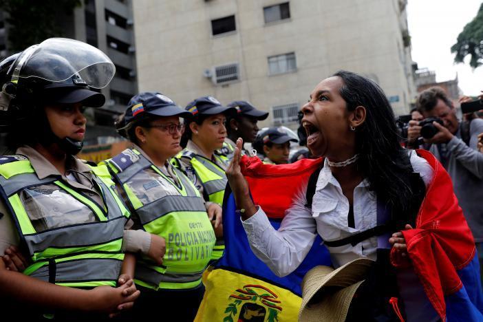 Протест в Каракасе_2