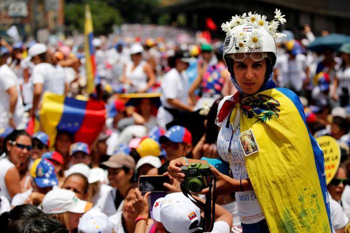 Протест в Каракасе_4
