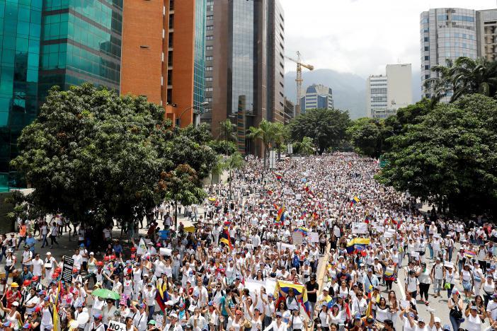 Протест в Каракасе_5