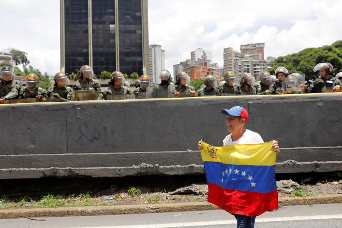 Протест в Каракасе_6
