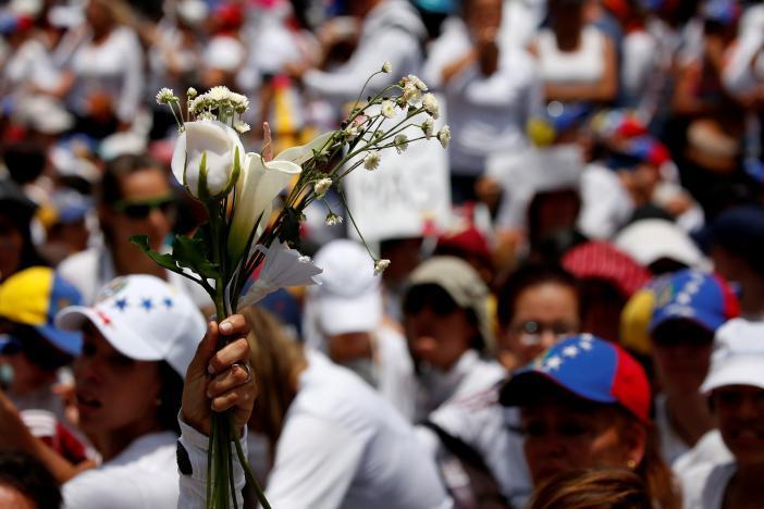 Протест в Каракасе_7
