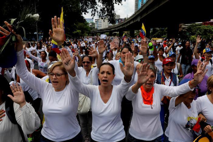 Протест в Каракасе_8