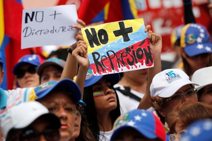 Протест в Каракасе_9