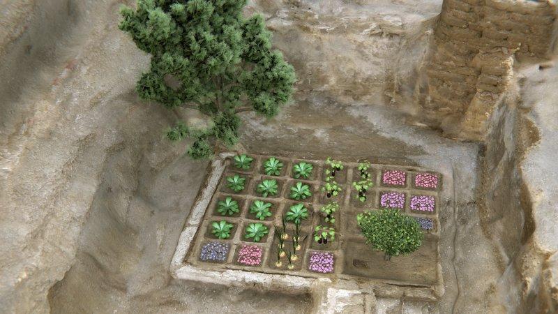 Погребальный сад в Египте_5