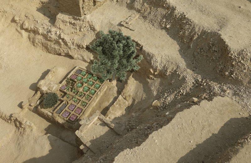 Погребальный сад в Египте_6
