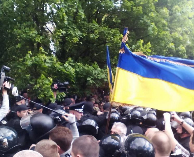 Столкновения в Днепре в День победы над нацизмом