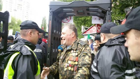В Киеве проходят массовые мероприятия ко Дню победы над нацизмом