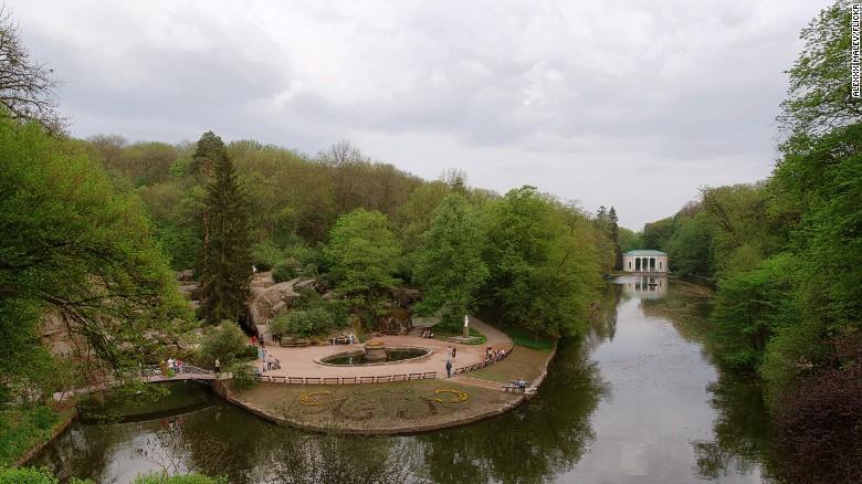 Софиевский парк в Умани