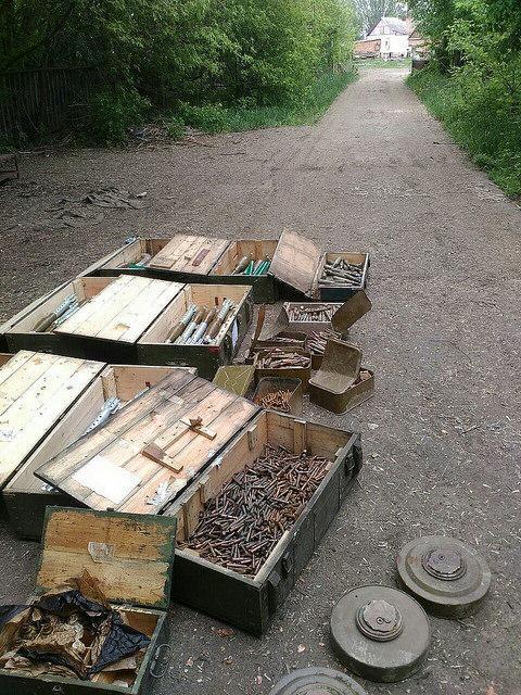 СБУ нашла два тайника с оружием и боеприпасами на Донбассе_4