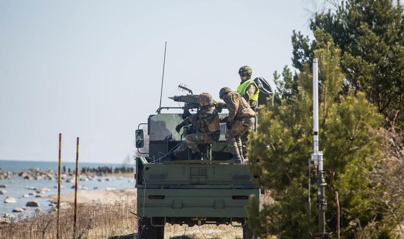 Испытания системы ПВО нового поколения