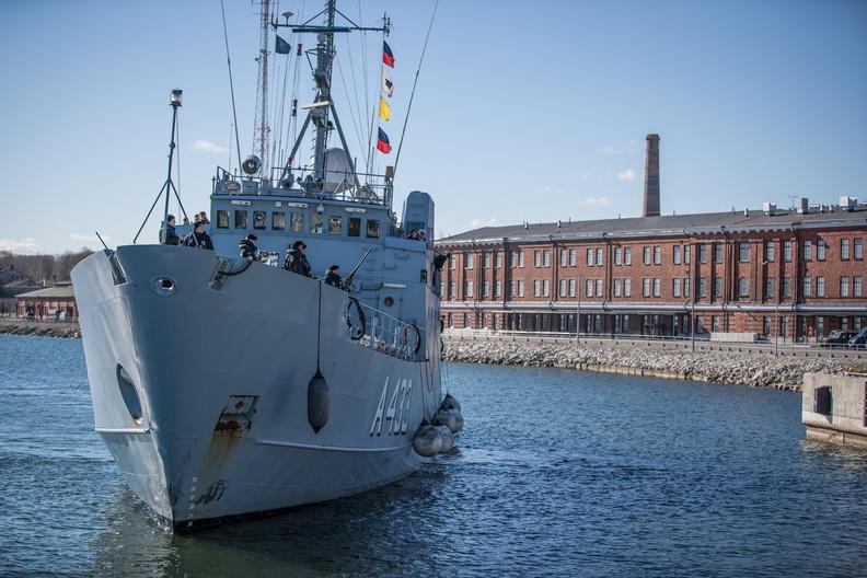 Группа кораблей НАТО прибыла в Эстонию