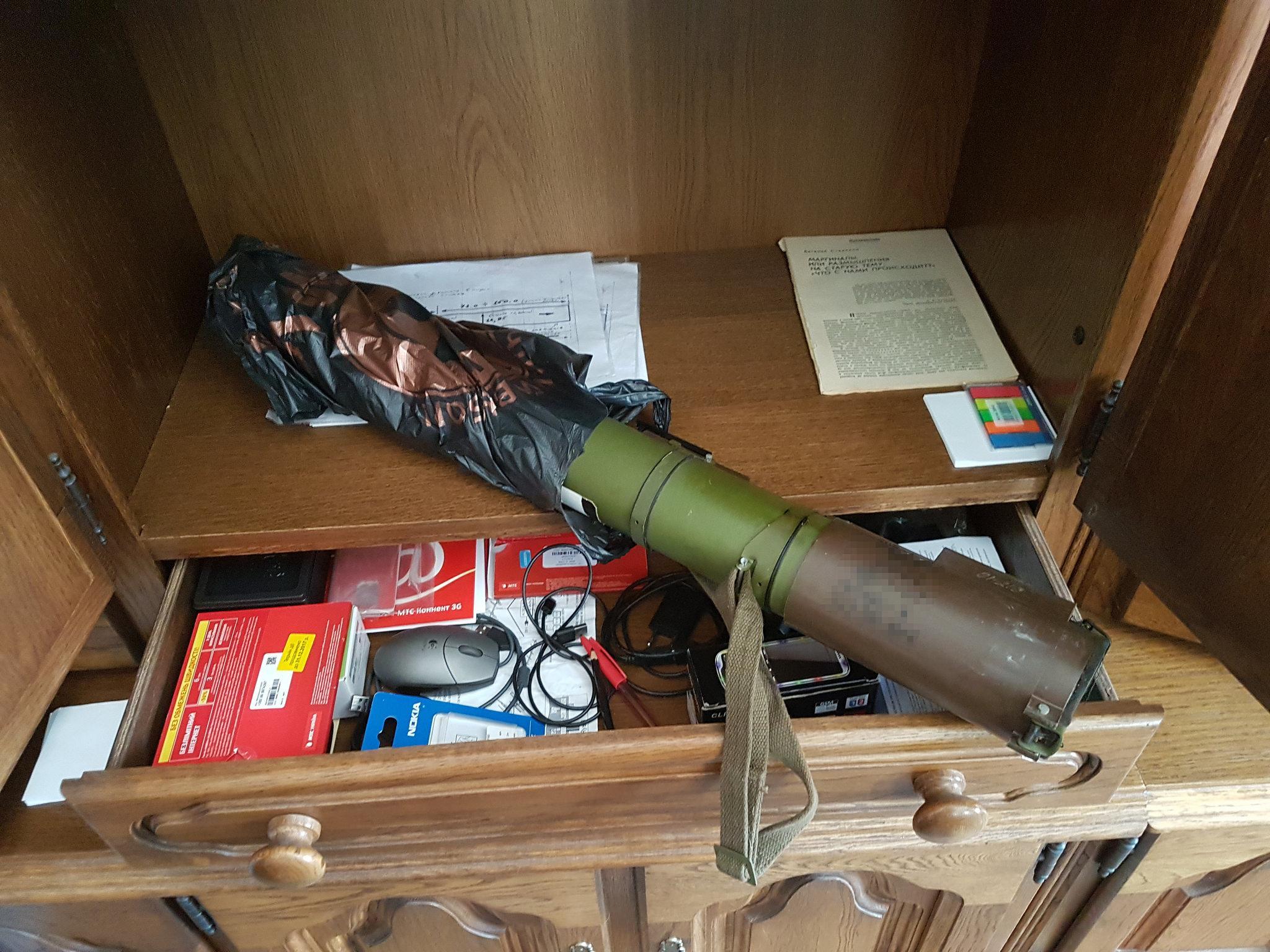 В Украине ликвидировали крупную сеть по изготовлению и сбыту оружия
