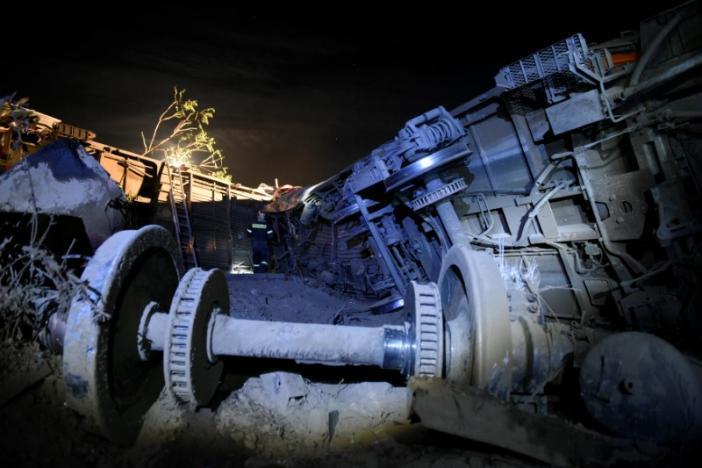 Авария поезда в Греции