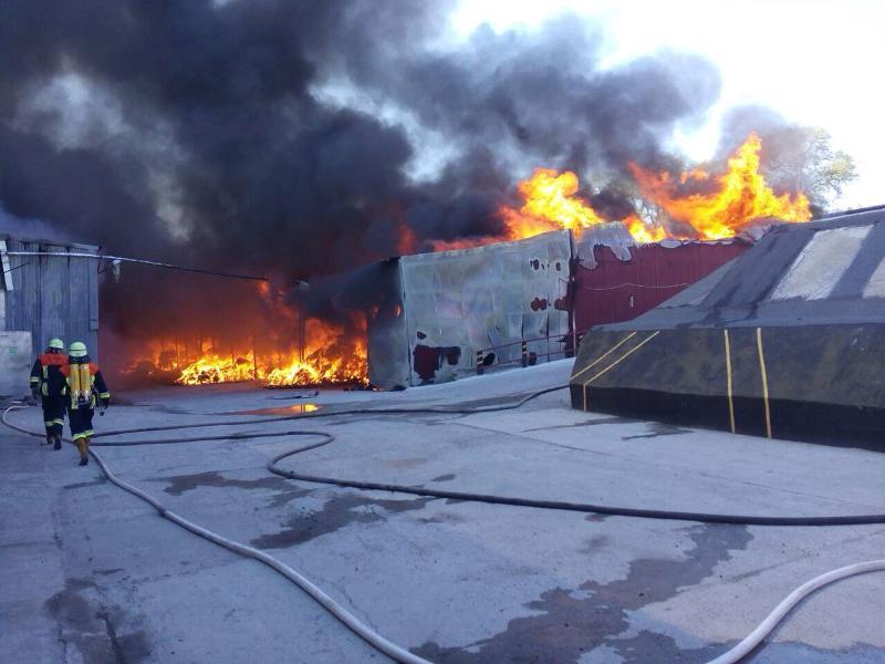 Пожар на суконной фабрике