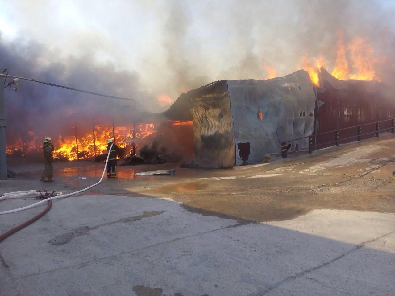 Пожар на суконной фабрике2