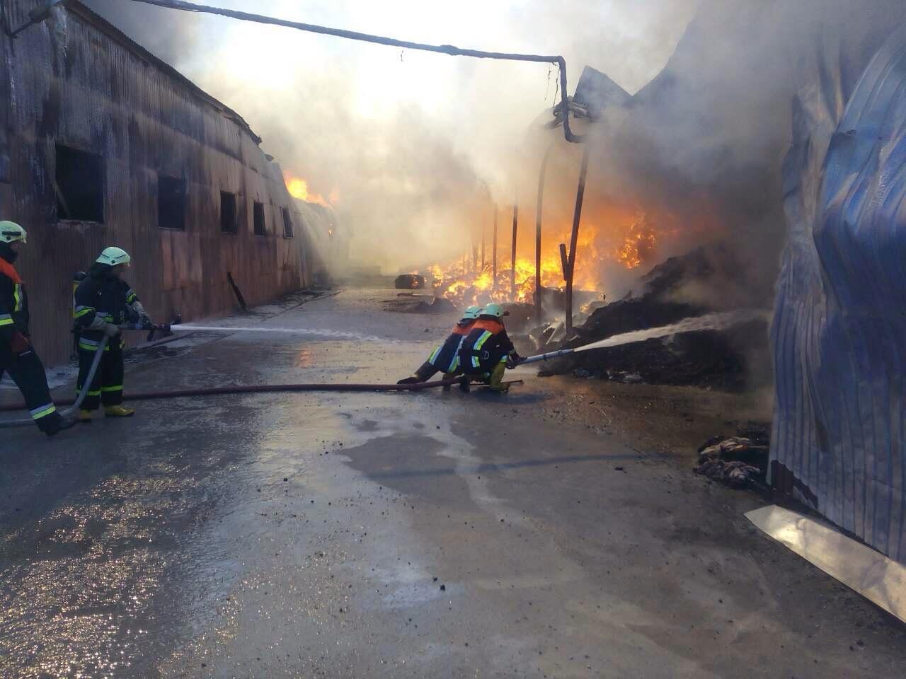 Пожар на суконной фабрике4